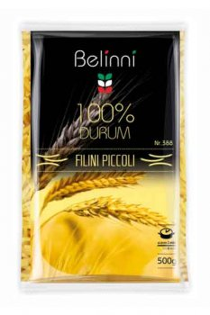 Макароны из твердых сортов пшеницы Belinni 500 г вермишель короткая