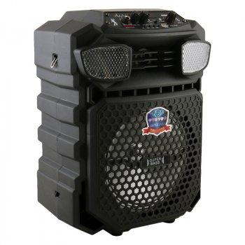 Портативна бездротова акустична система LT-816 Bluetooth колонка валізу з мікрофоном Black (LT-816)