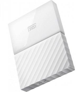 "Зовнішній диск HDD External 2.5"" 1TB Western Digital My Passport White USB 3.0 (WDBYNN0010BWT-EEEX)"