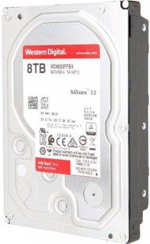 Жесткий диск Western Digital Red Pro NAS 8TB 7200rpm 256MB WD8003FFBX 3.5 SATA III