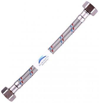 """Шланг водопровідний RUBINETA 1/2""""x1/2"""" 90 см В-В гнучкий 610090"""