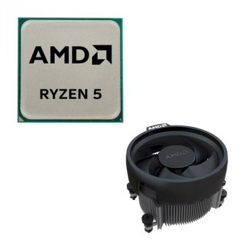 Процессор AMD AM4 Ryzen 5 3400G 3.7GHz 4MB 65W YD3400C5FHMPK Tray with Wraith Spire cooler