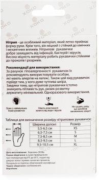 Одноразовые перчатки Nitromax нитриловые без пудры Размер L 10 шт Розовые (9869201152076)