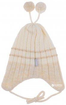 Зимняя шапка с завязками Lenne Brate 18370/100 40 см Молочная (4741578205539)