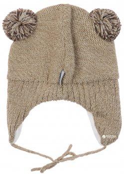 Зимняя шапка с завязками Lenne Brethe 18377/505 46 см Бежевая (4741578206758)