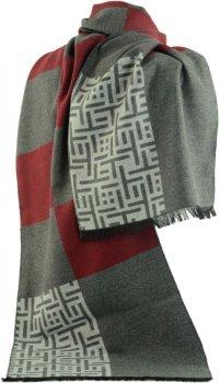 Шарф Trаum 2492-26 Серый с красным (4820002492261)