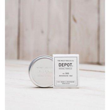 Віск для вусів і бороди Depot 503, 30 мл