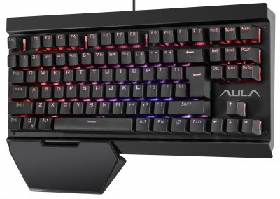 Клавиатура проводная Aula Hyperion Mechanical RGB Wired Keyboard USB (6948391221755)