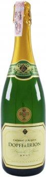 Ігристе вино Dopff&Irion Cremant Brut Blanc біле 12% 0.75 л (3039123200094)