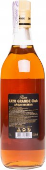 Ром Cayo Grande Анехо 37.5% 1 л (8414771850078)
