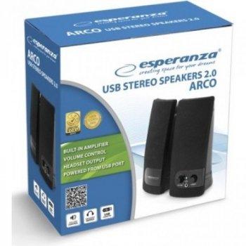 Акустична система Esperanza 2.0 Arco Black (EP119)