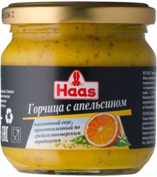 Набор горчицы в банках Haas 420 г (85901986030573)