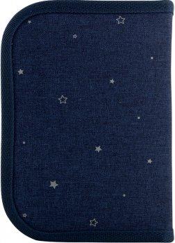 Пенал без наповнення Kite Education Gorgeous 1 відділення 1 закот Темно-синій (K20-621-5)