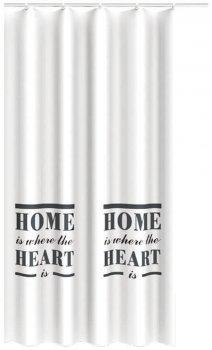 Шторка Trento Home Heart білий (46404)
