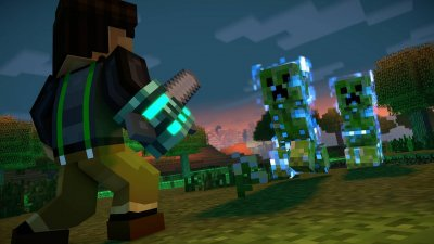 Minecraft Story Mode (з російськими субтитрами) XBOX ONE (Код)