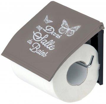 Тримач для туалетного паперу Trento Butterfly штировий капучино (52970)