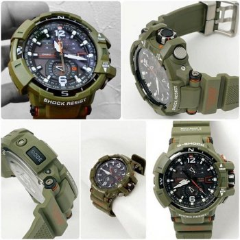Чоловічий годинник CASIO GW-A1100KH-3AER