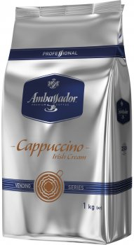 Капучино для вендинга Ambassador Cappuccino Irish Cream 1 кг (8719325224054)