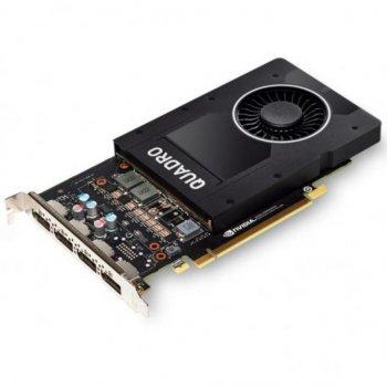 Відеокарта QUADRO P2200 5120MB HP (6YT67AA) (WY366YT67AA)
