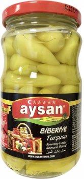 Перец острый консервированный Aysan Биберие 370 г (8694205011033)