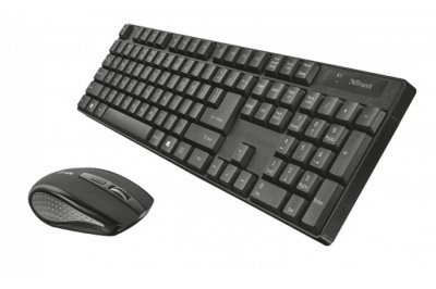 Комплект бездротової Trust XIMO Wireless Keyboard Mouse UKR (21628)