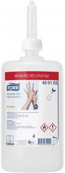 Спиртовий гель Tork для дезінфекції рук 1 л 420103 (7322540754124)