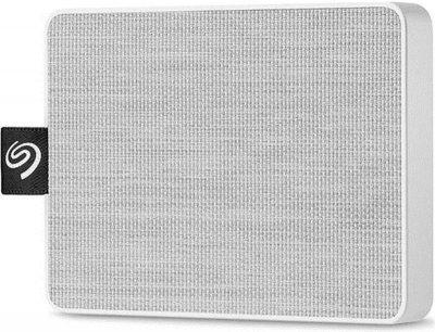 Накопичувач зовнішній SSD USB 1TB Seagate One Touch White (STJE1000402)