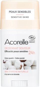 Дезодорант гелевый Acorelle органический Мягкий хлопок 45 г (3700343040851)