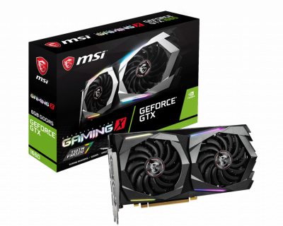 Відеокарта MSI GeForce GTX 1660 Gaming X 6Gb DDR5 192-bit HDMI/3xDP 1860/8000 MHz 8-pin (GTX 1660 GAMING X 6G) (179170)