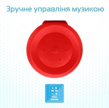 Акустична система Promate Silox Red (silox.red)