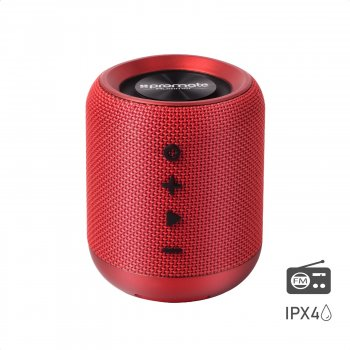 Акустическая система Promate Hummer 10W IPX4 Red (hummer.red)