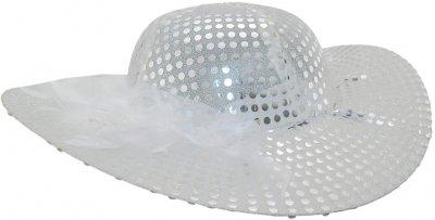 Шляпа женская Карнавал Мадам Белая (2000000026749)