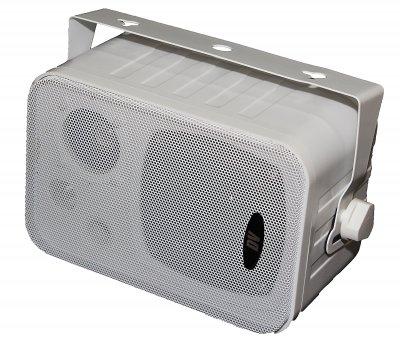 """Настенная двухполосная акустическая система DV audio 4""""+2"""" 10W 100V белый (Control 1 White)"""