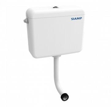 Пластиковый бачок для унитазов Siamp RONDO типа компакт с двойным режимом слива