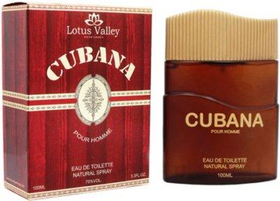 Туалетная вода для мужчин Lotus Valley Cubana (Cigar - Remy Latour) 100 мл (6291104321212)