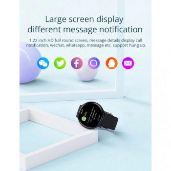 Смарт-годинник Colmi Sky 2 водонепроникні з Bluetooth / пульсометром / тонометром Чорний