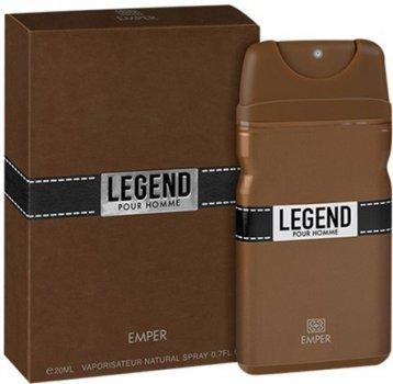 Туалетная вода для мужчин Emper Legend 20 мл (6291103666741)