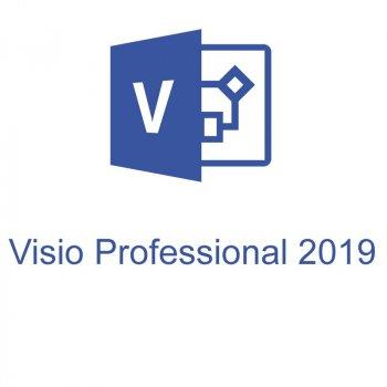 Офісна програма Microsoft Visio Pro 2019 професійний 1 ПК (електронний ключ, всі мови) (D87-07425)
