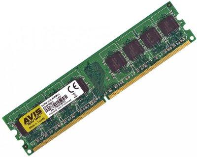 Оперативна пам'ять DDR2-800 4Gb PC2-6400 AVIS AD2F800/4 4096MB (770008510)