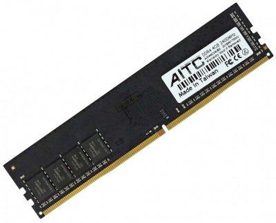 Оперативна пам'ять DDR4-2400 4Gb PC4-19200 AITC AID44G24UBD 4096MB (770008498)