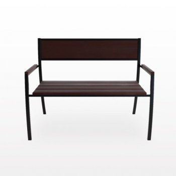 Скамейка UBC Promo Модерн М216-1 85.6х113х56 см (11828992)