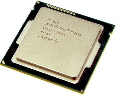 Процессор S1150 Intel i5-4570 4x3.2-3.6 GHz Б/У