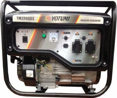 Бензиновий генератор Yotumi YM2900DX