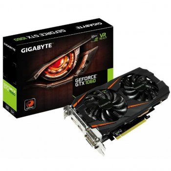 Відеокарта GIGABYTE GeForce GTX1060 3072Mb WF2 (GV-N1060WF2-3GD)