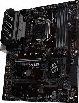 Материнська плата MSI Z390-A Pro (s1151, Intel Z390, PCI-Ex16)