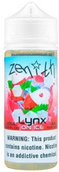 Рідина для електронних сигарет Zenith Lynx Ice 3 мг 60 мл (Лічі + лимонад + ментол) (Z-LYI-3-60)