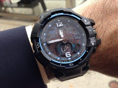 Чоловічий годинник CASIO GW-A1100FC-1AER