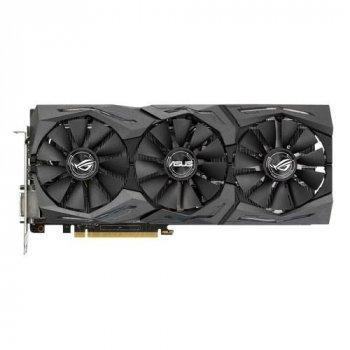 Видеокарта ASUS GeForce GTX 1080 ROG STRIX 8GB GDDR5X (STRIX-GTX1080-8G-GAMING) Refurbished