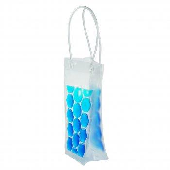 Пакет со льдом для охлаждения напитков голубой (НО)