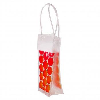 Пакет со льдом для охлаждения напитков красный (НО)